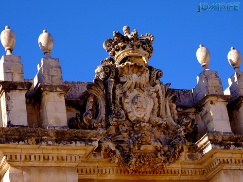 Universidade de Coimbra - Escultura da biblioteca
