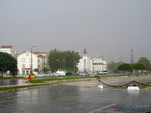 Chuva na Figueira da Foz - CGD [en] Rain in Figueira da Foz, Portugal - Bank