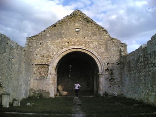 Igreja de Nossa Senhora de Finisterra: Dentro
