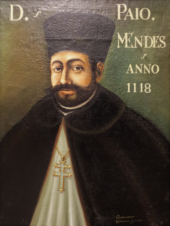 Paio Mendes da Maia - Galeria dos arcebispos de Br