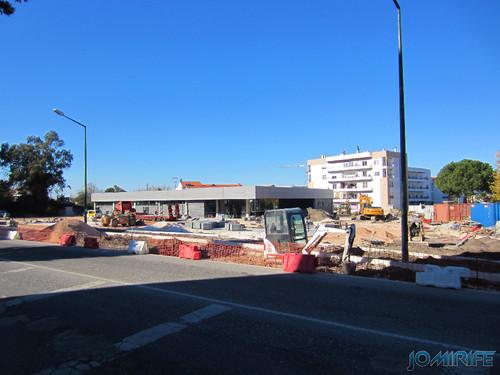 Construção do Supermercado ALDI na Marinha Grande - Frente [en] Construction of ALDI Supermarket in Marinha Grande, Leiria, Portugal
