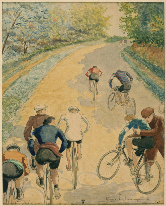 George Duchesne, Course Cycliste.jpg