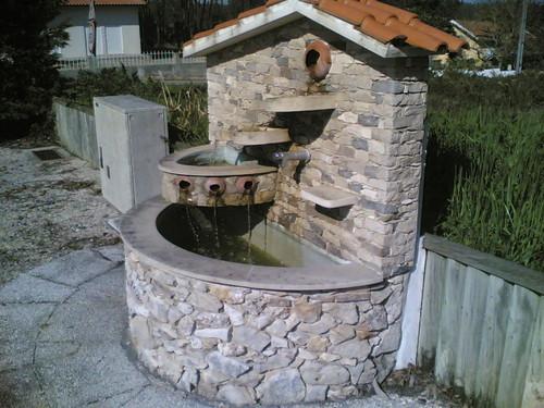 Fonte no Parque da Tapada, Barreiras