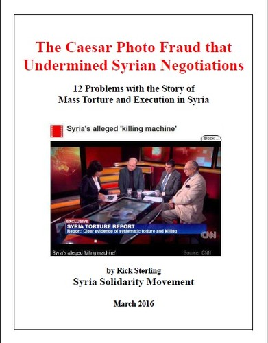 The Caesar Photo Fraud that Undermined Syrian Negotiations