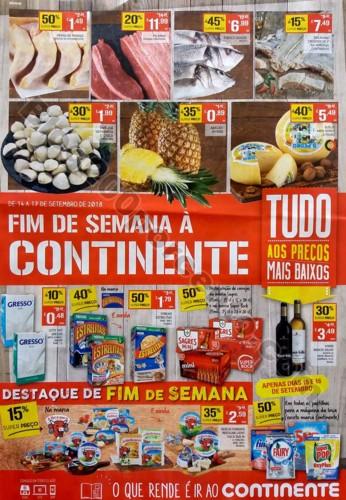 folheto fim de semana continente 14 a 17 setembro_