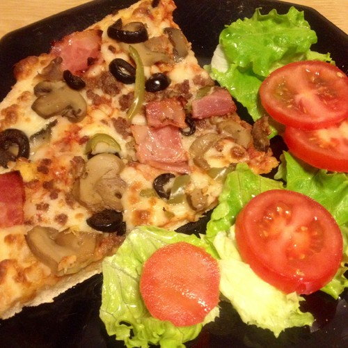 Pizza especial da casa