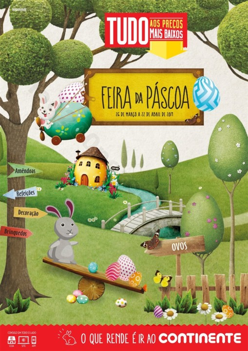 Antevisão Folheto CONTINENTE Madeira Páscoa Prom