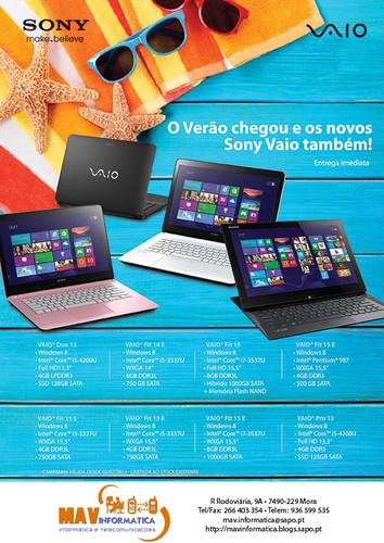 Sony Vaio - MAV Informática