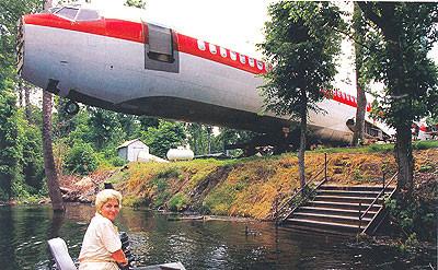 casa avião boeing