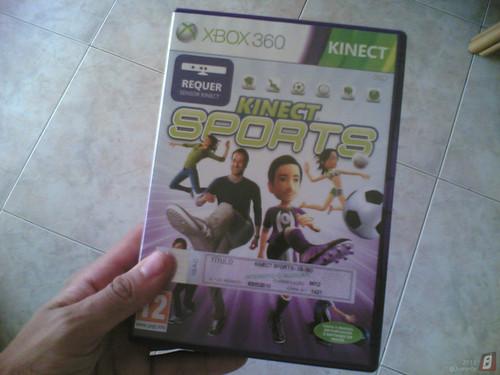 XboX 360 Kinect - Kinect Sports (jogo)