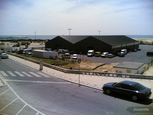 Mercado municipal no parque das gaivotas (Fig.Foz)
