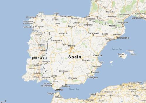 mapa abrantes portugal ACTUALIZAÇÃO DO MAPA DE PORTUGAL   COLUNA VERTICAL mapa abrantes portugal
