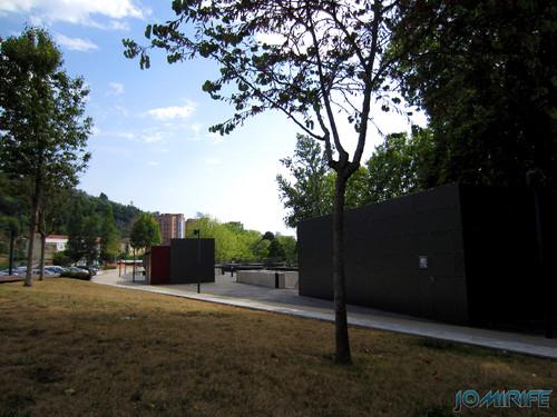 Jardim do Polis Leiria (Este) - Lado Este [en] Polis Garden of Leiria, Portugal