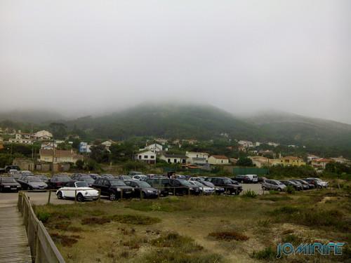 Praia de Quiaios na Figueira da Foz com nevoeiro [en] Quiaios Beach in Figueira da Foz with fog