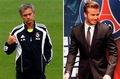 Mourinho e Beckam dominam nos ganhos...