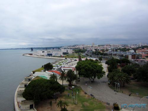 Lisboa - Torre de Belém (15) Vista Oeste [en] Lisbon - Belem Tower - West view