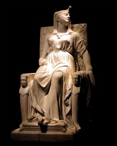 A Morte de Cleópatra, por Edmonia Lewis