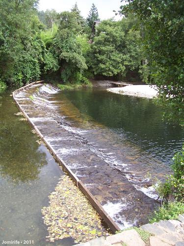 Vila de Góis - Praia fluvial: Quebra água