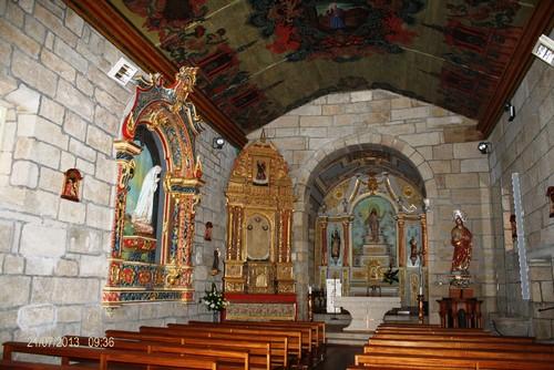 Cerva - Interior da Igreja Matriz de São Pedro