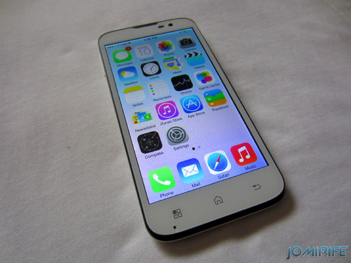 iOS7 on a Smartphone Andoid Bq Aquaris 5