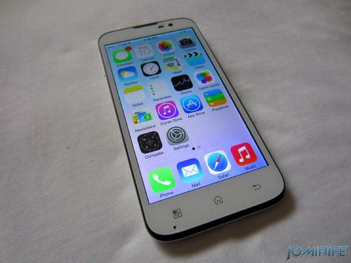 iOS7 on a Smartphone Andoid Bq Aquaris 5