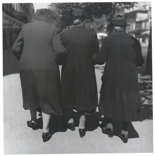 Three Women, Sunday Stroll Near Denfert Rochereau