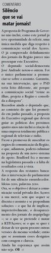 No Diário Insular de ontem...