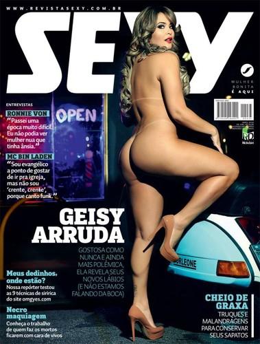 Geisy Arruda capa