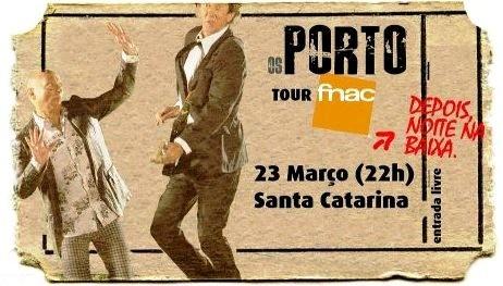 Os Porto vão à FNAC de Santa Catarina...