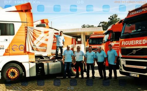 Numofreita 2012 - Saida dos Motoristas dos Transportes Figueiredo