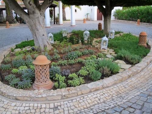 O jardim de ervas arom ticas do chef hans neuner no ocean - Jardin de aromaticas ...