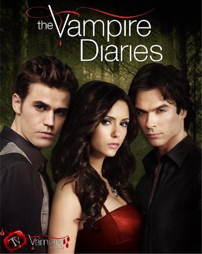 The Vampire Diaries capa 1