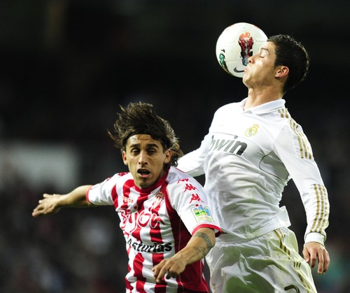 Espanha: Real Madrid-Gijón