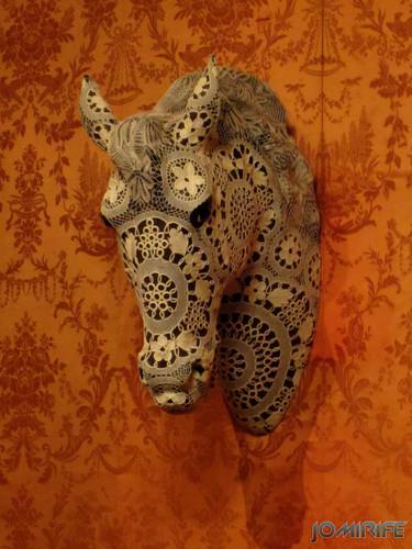 Joana Vasconcelos - Apolo 2013 aka Cabeça de cavalo com renda [EN] Apolo - Horse head with lace