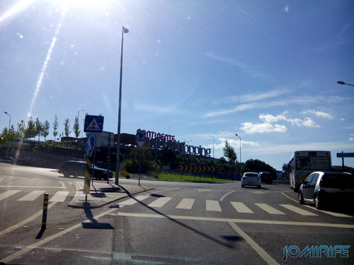 Chegando ao Leiria Shopping [en] Arriving at Leiria Shopping Mall in Portugal