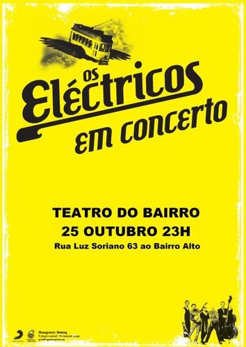 os eléctricos em concerto