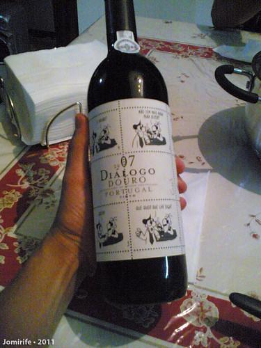 Um vinho com história... literalmente!