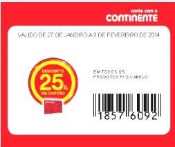 Acumulação Super Preço + Vale + Cupão | CONTINENTE | Pantene