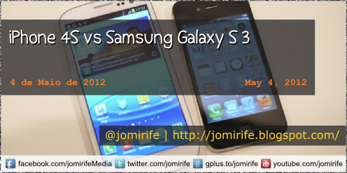 Blog: iPhone 4S vs Samsung Galaxy S 3