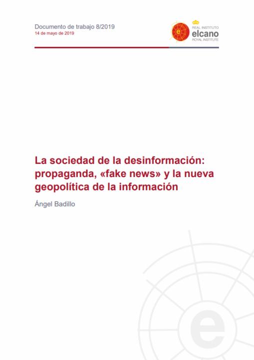 A sociedade da desinformação: propaganda, «fake news» e a nova geopolítica da informação | e-book