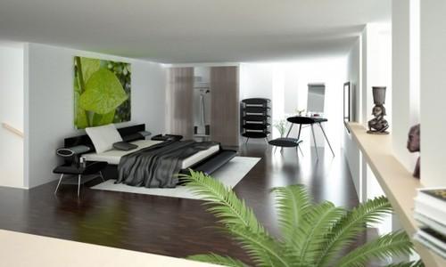 quarto de casal open space