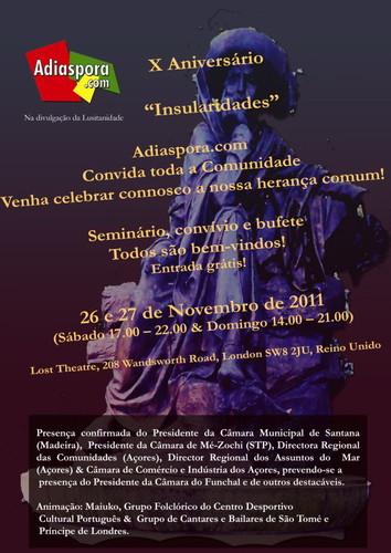 Evento X Aniversário A Diaspora