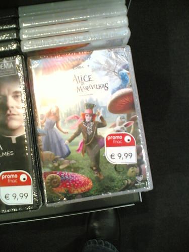 DVD: Alice no País das Maravilhas de Tim Burton