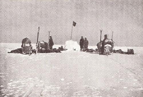 Amundsen no Polo Sul