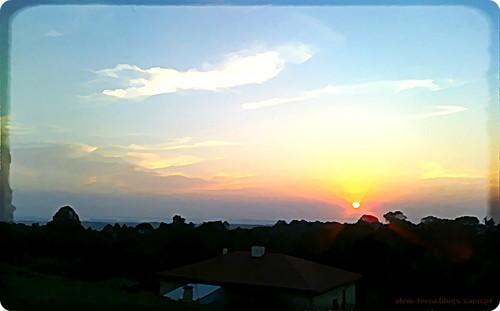 pôr-do-sol, Cucujães 21 Setembro de 2010... mas até podia ter sido hoje
