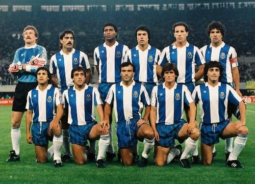 O onze inicial em Viena'87...