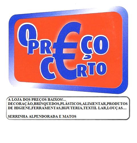 PREÇO CERTO