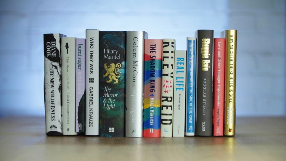 2020 Booker Prize longlist book stack 2.jpg