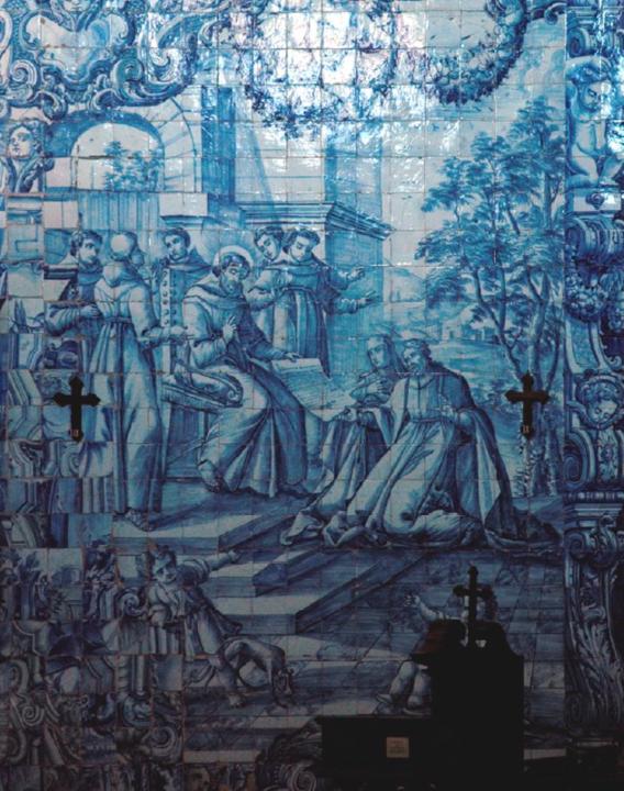 Painel de azulejos, Fundação da Ordem Terceira d