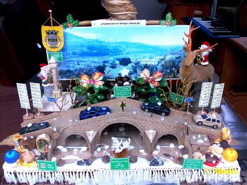Vila de Cerva - Montra de Natal 2016